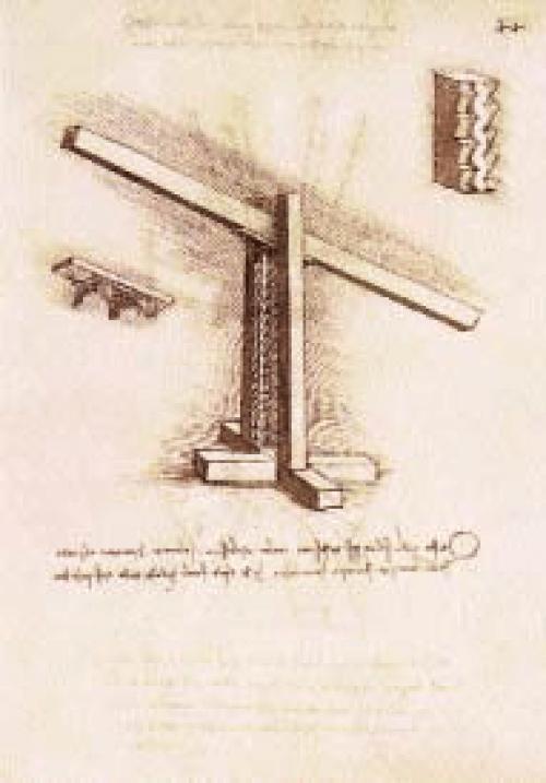 Leonardo-da-vinci-System-for-the-Lifting-of-a-Beam