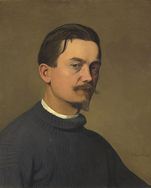 Felix-Vallotton-self-poortrait