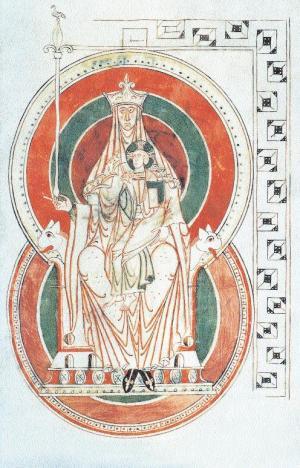 La Vierge dans l'art 1