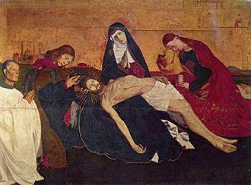 Pietà of Villeneuve-lès-Avigno, Enguerrand Quarton C1500