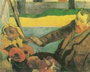 Gauguin - Van Gogh mentre dipinge