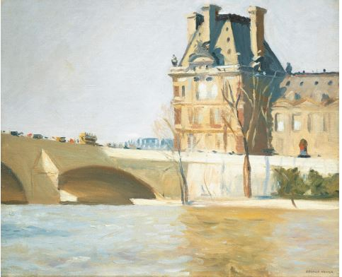 Edward Hopper - Le Pont Royal