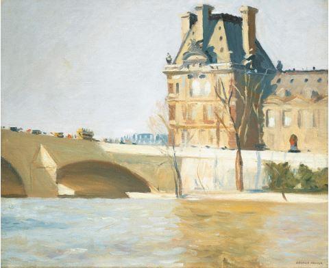 Edward Hopper - Le Pont Royal