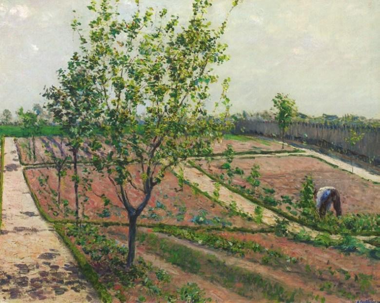 Gustave Caillebotte - The Kitchen Garden, Petit Gennevilliers