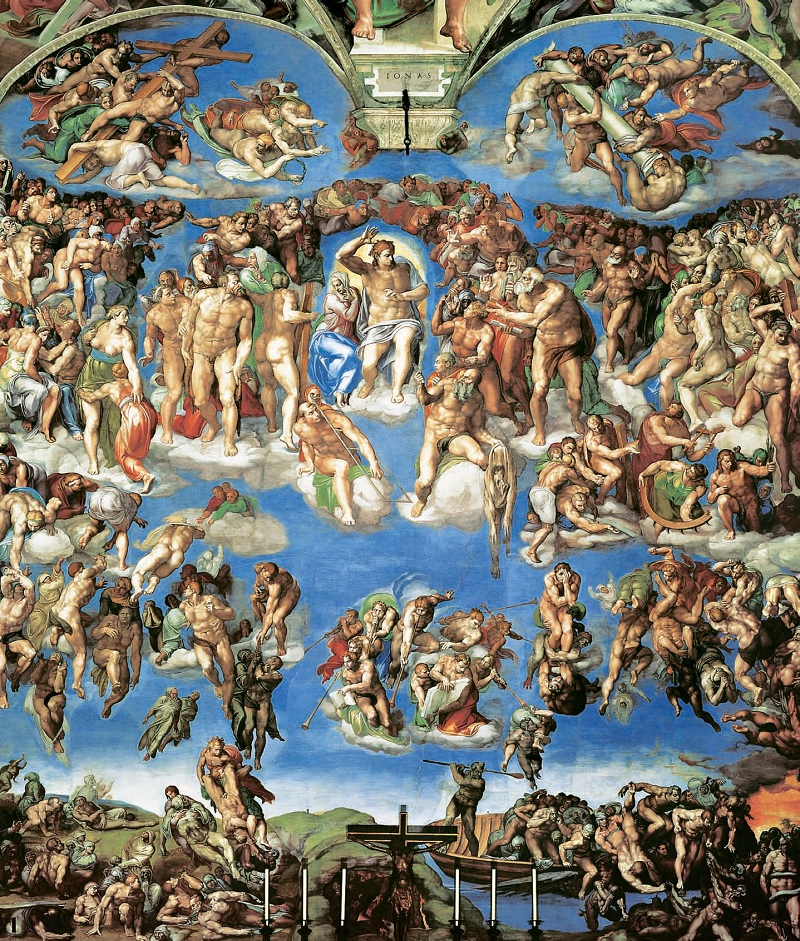 Michelangelo-The last judgment