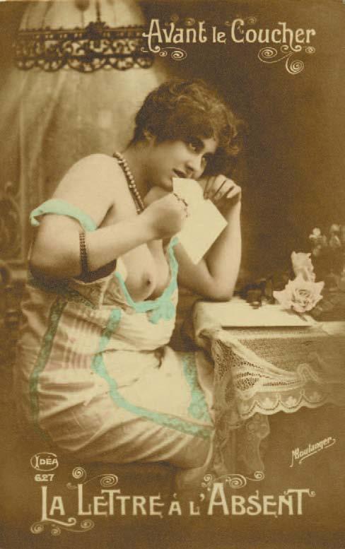M. Boulanger, Idea 386, Postkarte mit bedruckter Rückseite, Alexandre Dupouy