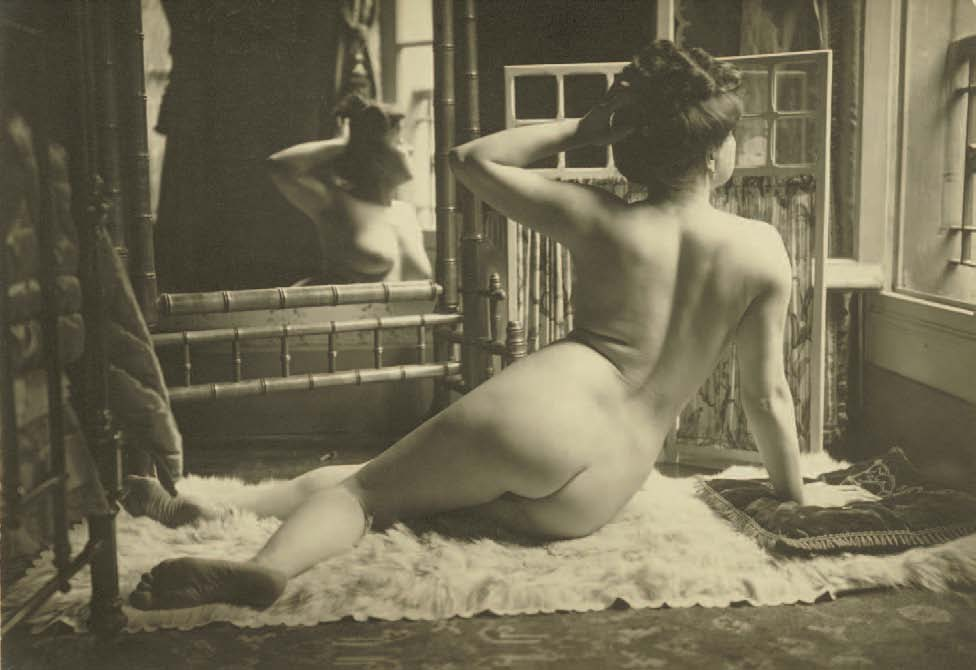 H.C.W. Paris, Nr. 18, Abzug mit Silberjodid, 11,3 x 16 cm, um 1900, Alexandre Dupouy