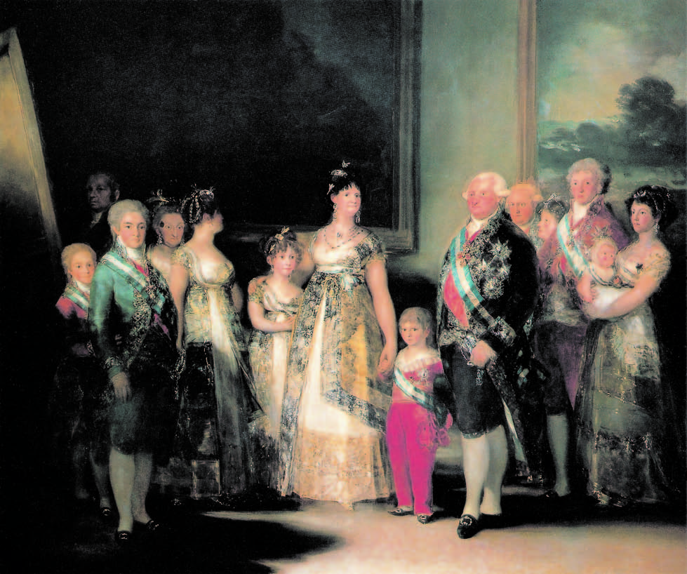 The Family of Charles IV, 1800-01, Goya, Victoria Charles