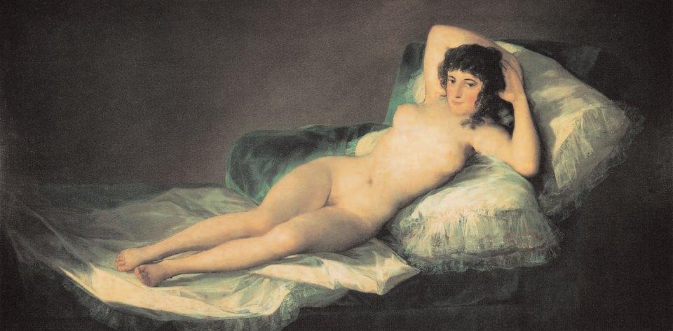 Die Nackte Maja, 1798-1805, Goya, Victoria Charles