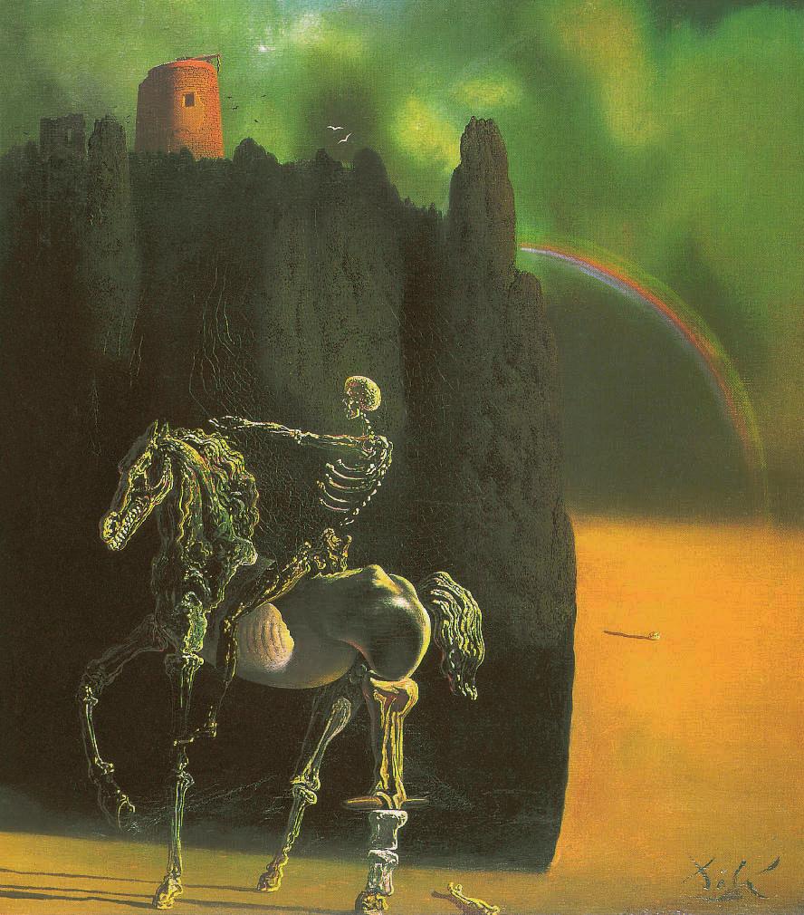 Der apokalyptische Reiter, Salvador Dalí, 1935, Camille Flammarion