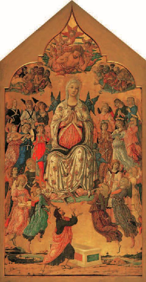 L'Ascension de la Vierge, Matteo di Giovanni, vers 1474, Portraits de Vierges, Klaus Carl
