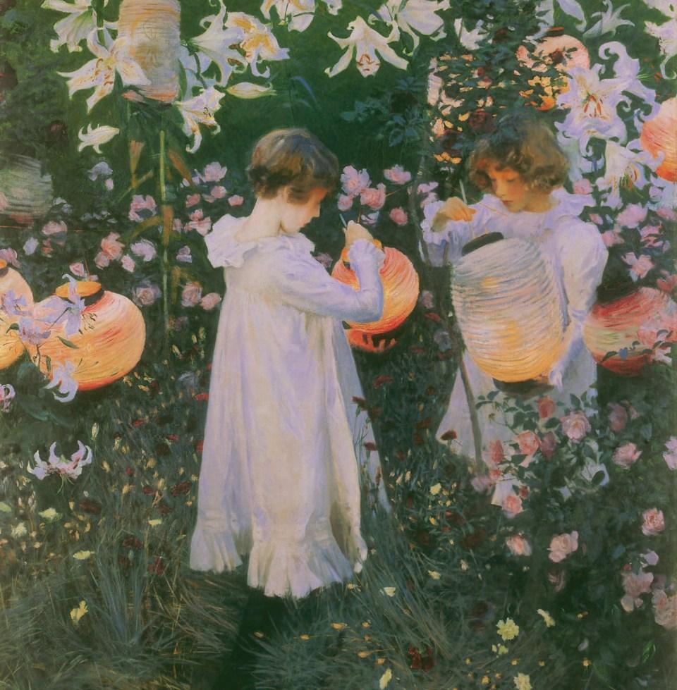 Carnation, Lily, Lily, Rose by John Singer Sargent, Little Girls, Klaus H. Carl