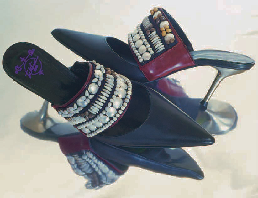 Mules « opium », Chaussures, Marie-Josèphe Bossan