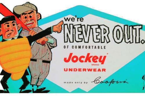Wir sind niemals raus…aus der bequemen Jockey Unterwäsche, Shaun Cole