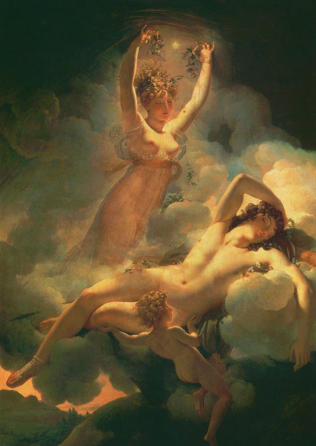 Aurore et Céphale, Pierre-Narcisse Guérin, 1811-1814, L'amour, Love, Jp. A. Calosse