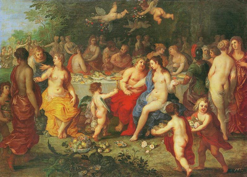 Le Mariage de Bacchus et d'Ariane, L'amour, Love, Jp. A. Calosse