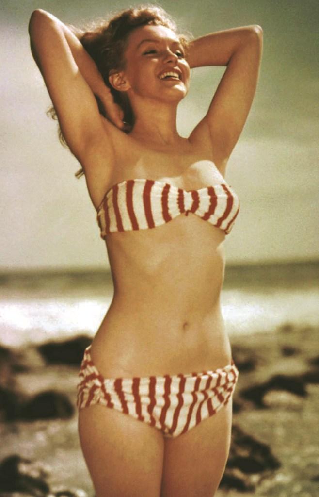 Marilyn Monroe à la plage, Bikini Story, Patrik Alac