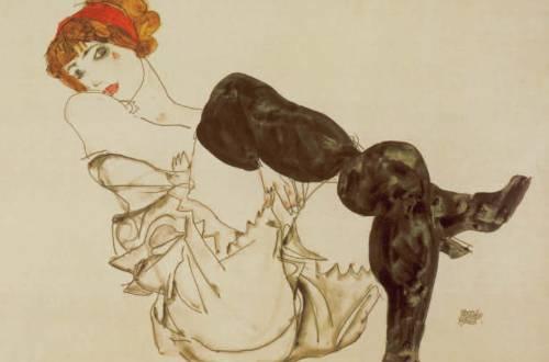 Woman in Black Stockings, 1913, Erotic Fantasy, Hans-Jürgen Döpp