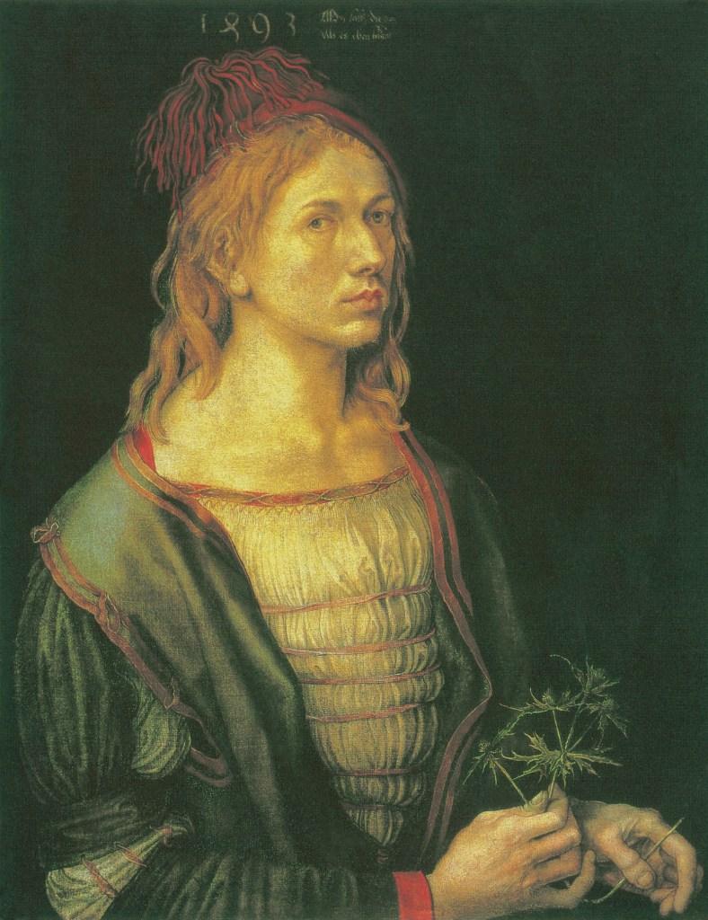 Albrecht Dürer. Selfportrait, 1493, Homosexuality in Art, James Smalls