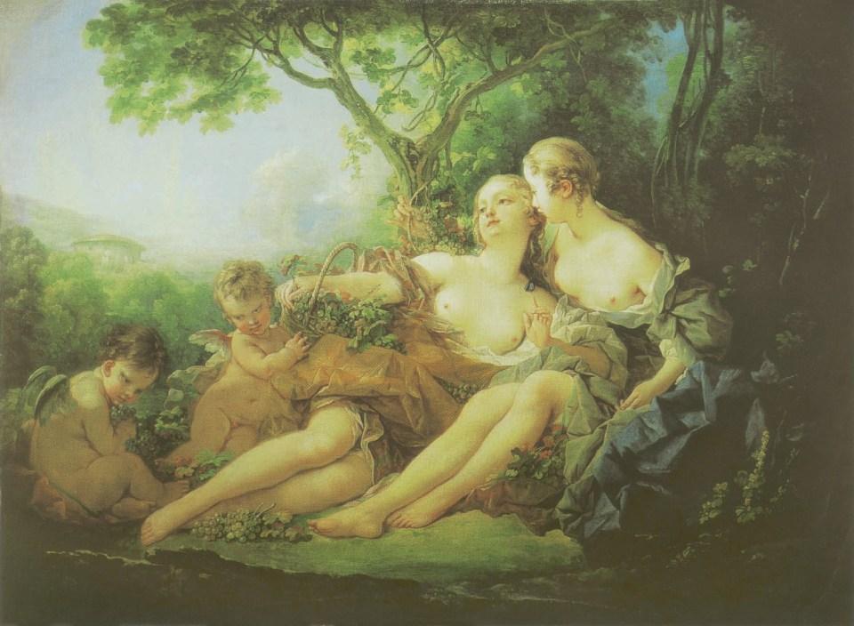 François Boucher. Erigone Defeated, 1749, Homosexuality in Art, James Smalls