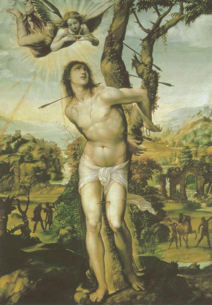 Le Sodoma, Saint Sébastien, vers 1542, L'Homosexualité dans l'Art, James Smalls