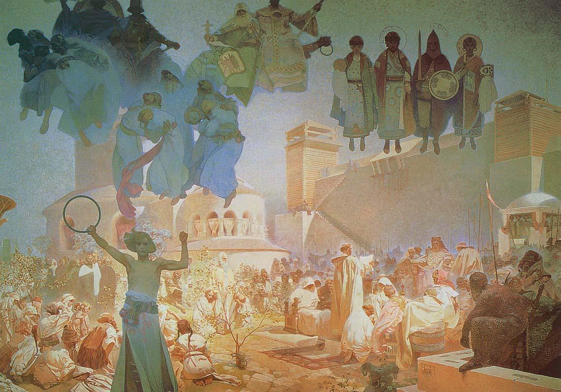 """Einführung in die slawische Liturgie """"Lobpreise Gott in deiner Muttersprache"""", 1912"""
