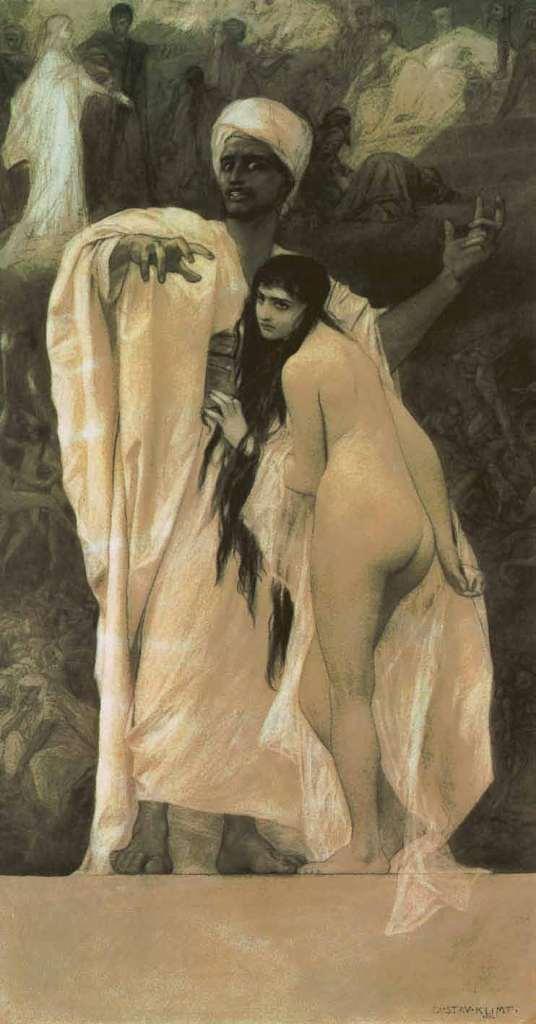 Conte de fées, 1884, Gustav Klimt, Jane Rogoyska, Patrick Bade