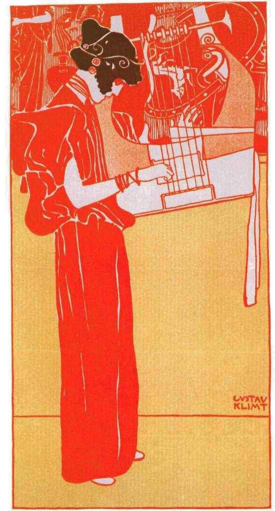 Musique, 1901, Gustav Klimt, Jane Rogoyska, Patrick Bade