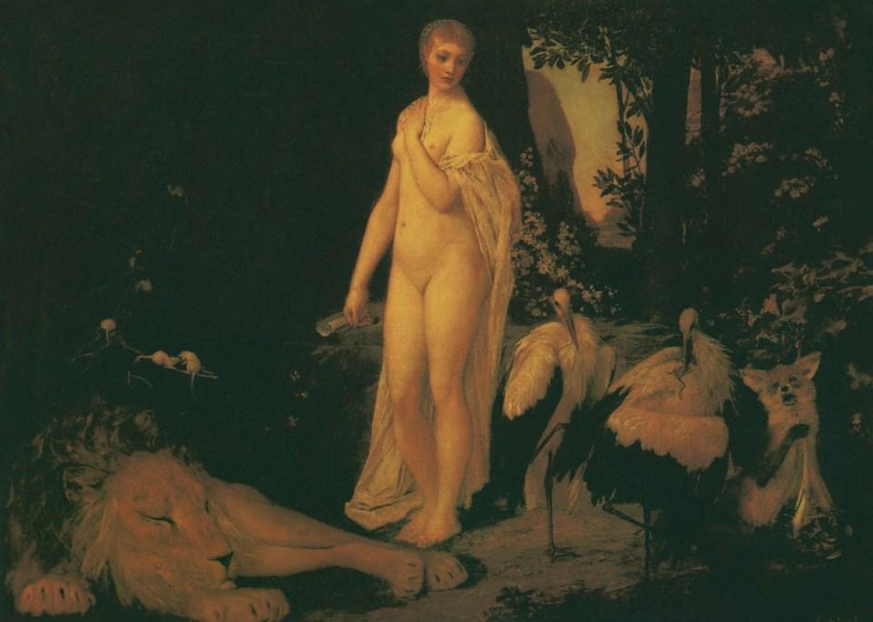 DIE FABEL, 1883, Gustav Klimt, Jane Rogoyska, Patrick Bade
