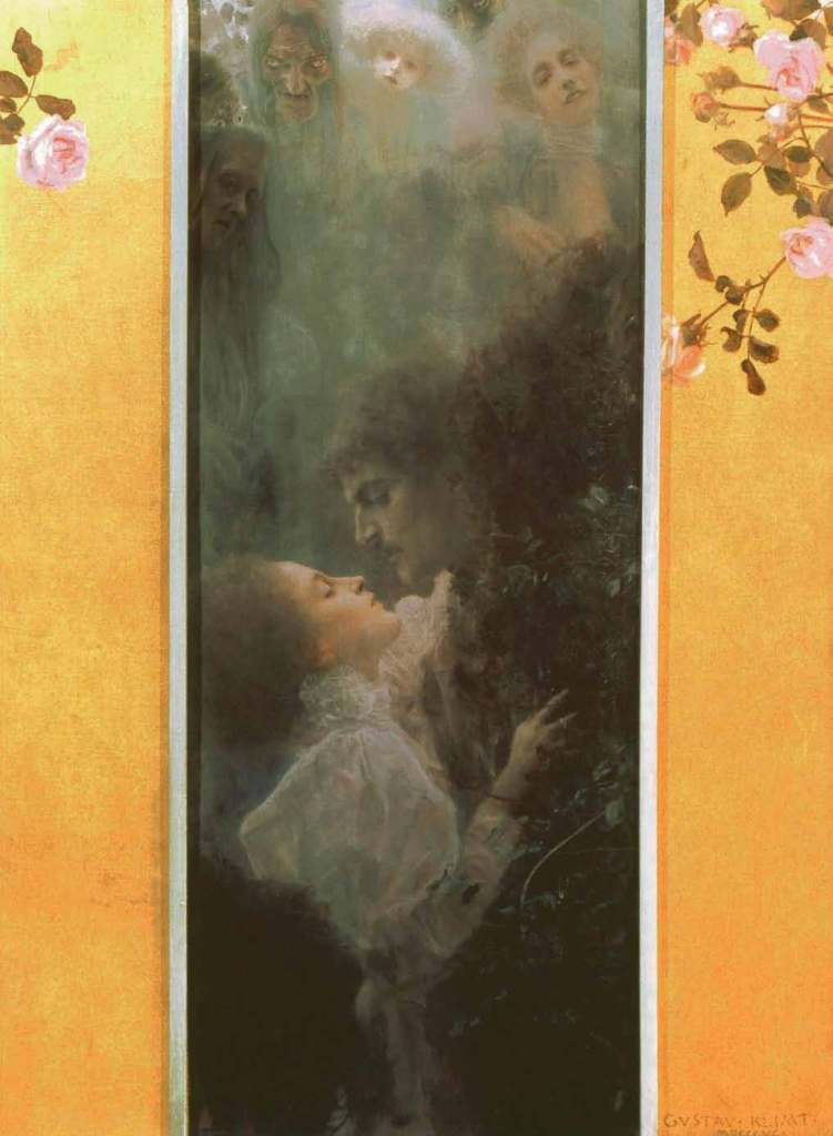 L'AMOUR, 1895, Gustav Klimt