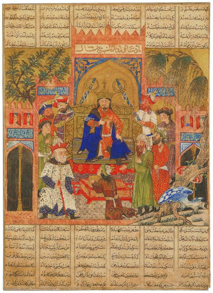 The Enthronement of Shah Zav, The Book of Wonder, Marco Polo