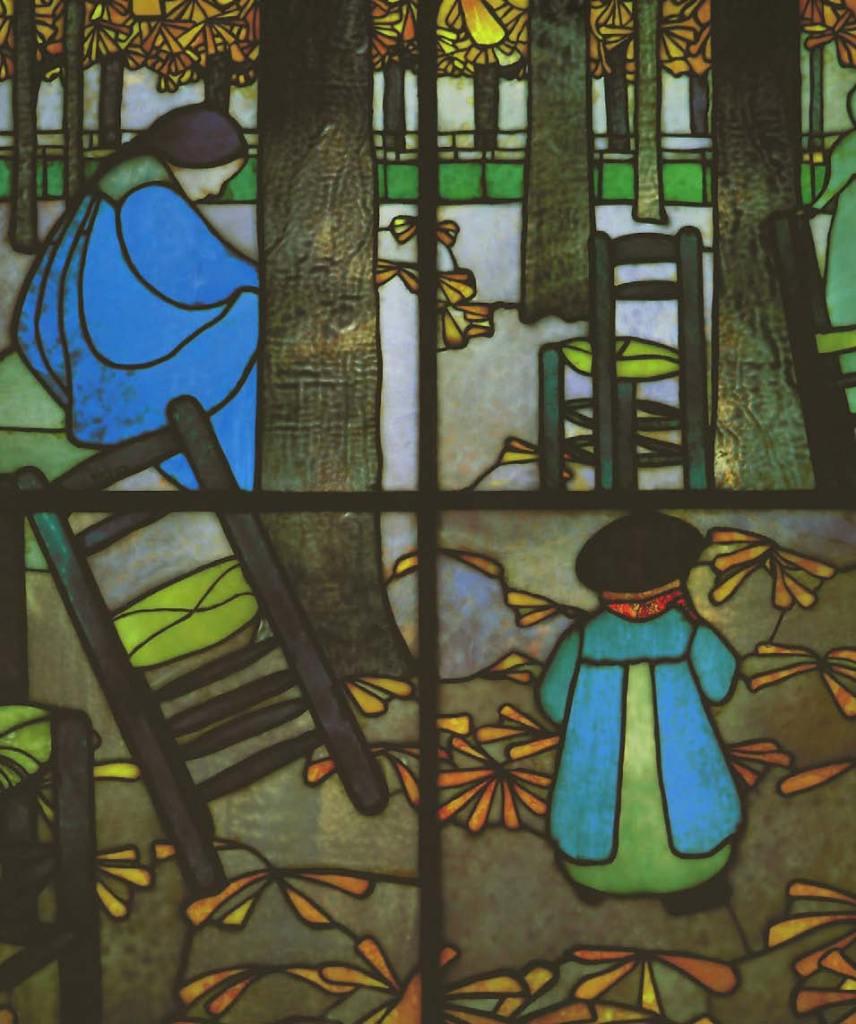 Louis Comfort Tiffany, Garten, 1895, Die Nabis, Albert Kostenevitch