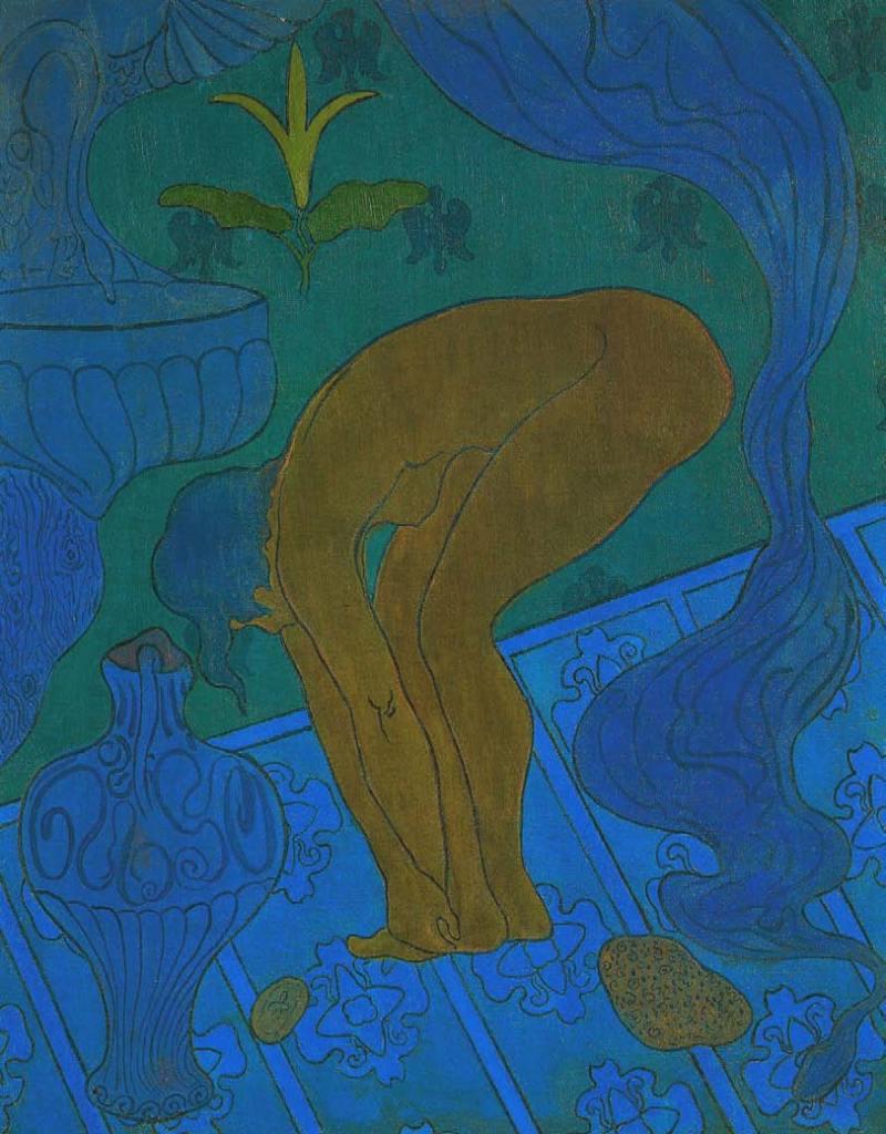 Paul Ranson, Lustral oder Die blaue Badende, 1891, Die Nabis, Albert Kostenevitch