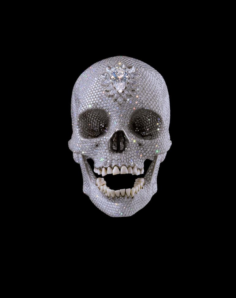 For the Love of God, 2007, Cupid's Lie, Damien Hirst