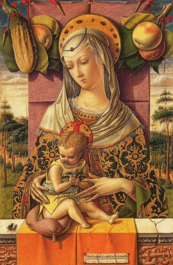 Vierge à l'Enfant, vers 1480, L'Art du Diable, Satan