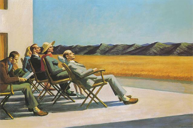 People in the Sun (Gens au soleil), 1960, La Tradition Pop Art - Une reponse a la Culture de Masse, Eric Shanes