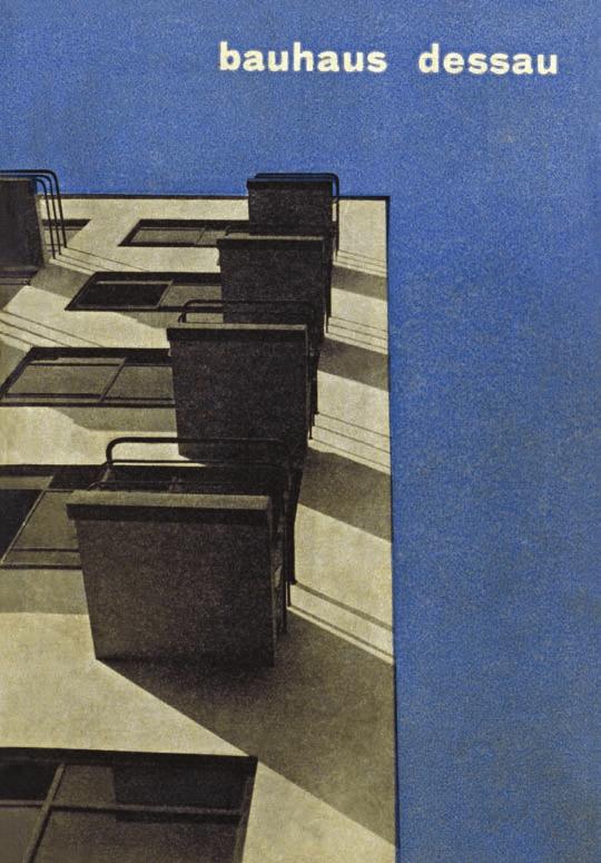 Herbert Bayer, Bauhaus-Werbeprospekt, 1927