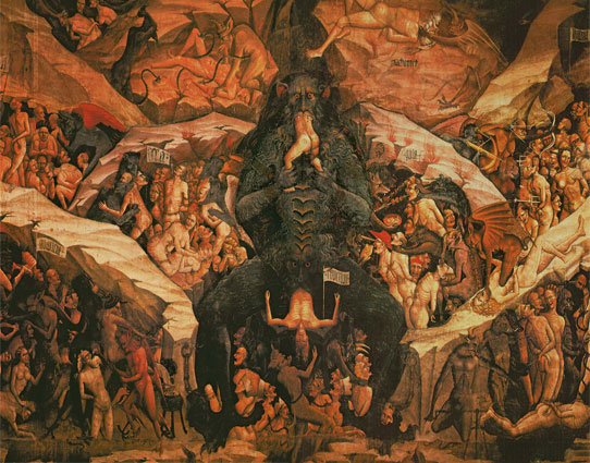 Giovanni da Modena, The Punishments of the Damned in Hell, 1410