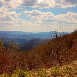 Cherohala Skyway to Nantahala National Forest, North Carolina