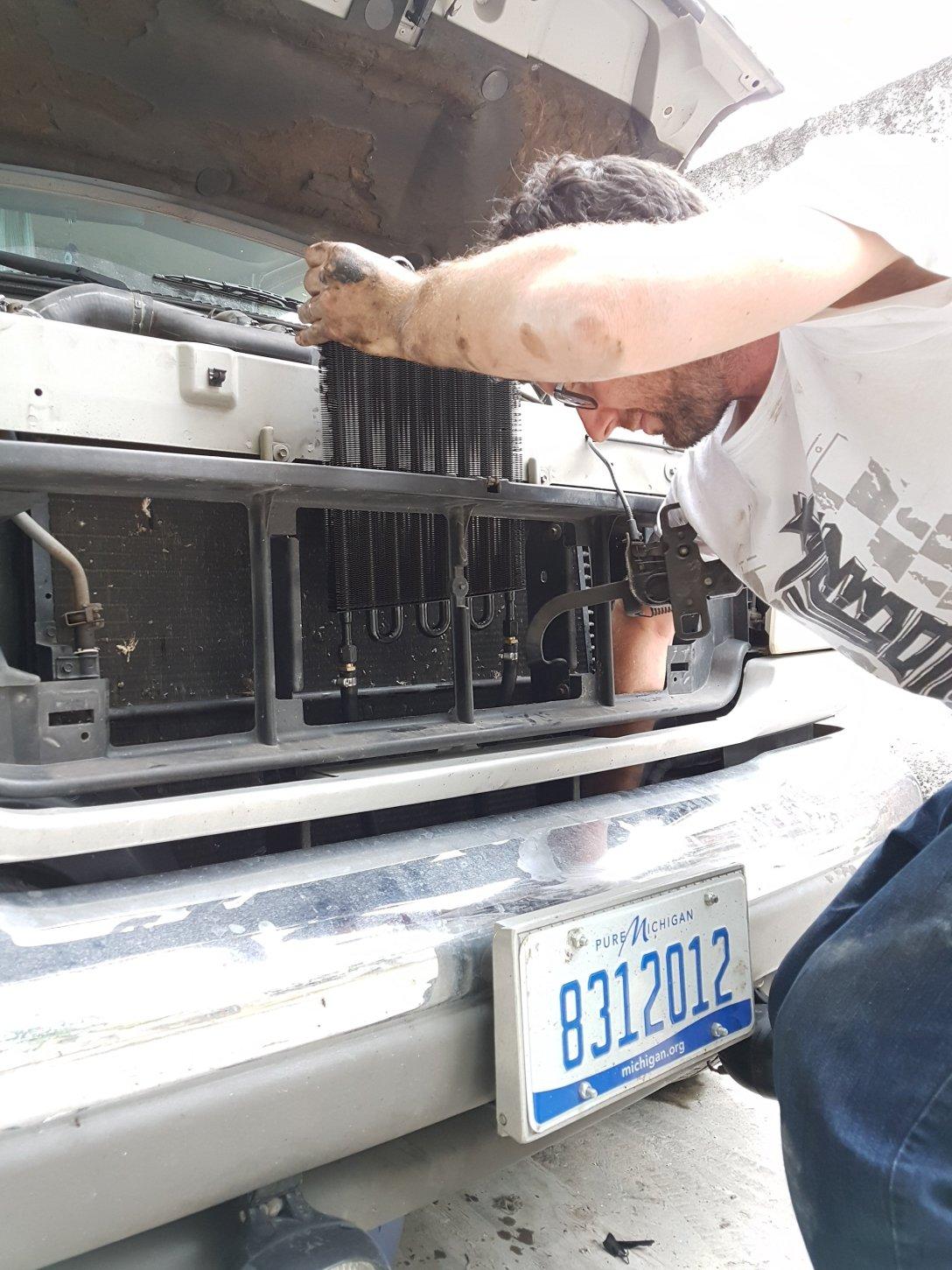 Ford transmission cooler