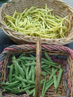 Yummy yellow & green beans