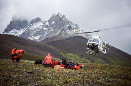Rescue at Mt. Bridgeland, by John Niddrie (Warden Journals)