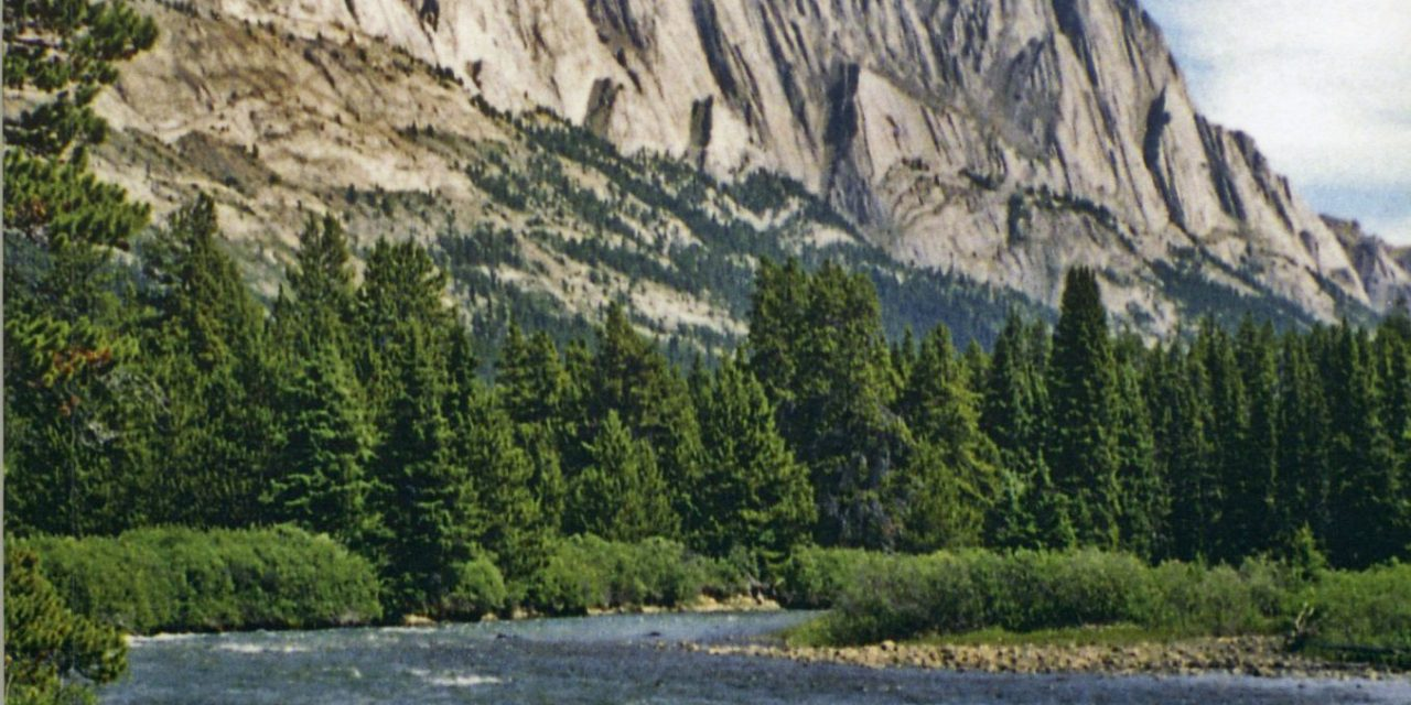 Blue Creek Bride, A Kiwi rides into the Rockies with her warden husband