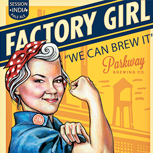 Factory Girl Session India Pale Ale Parkway Brewing Company Salem Roanoke Virginia Craft Beer