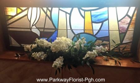 St Patrick's Chirch Oakdale PA Window Ledge