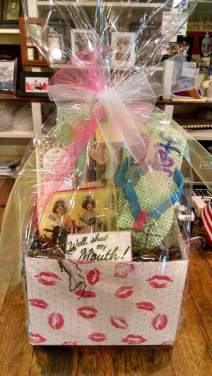 Basket for sale at Something Special in downtown Burnsville, NC!