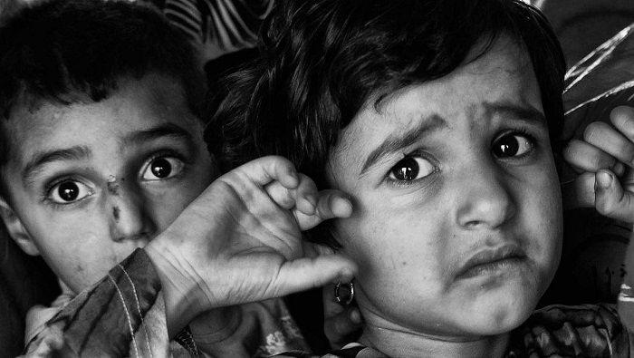 Savaş ve Katliam ve Çocuklar