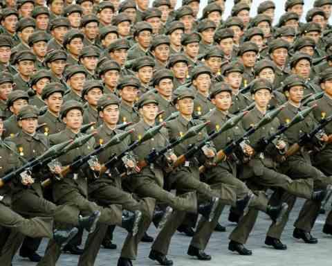 Kuzey Kore'nin Askeri Kapasitesi