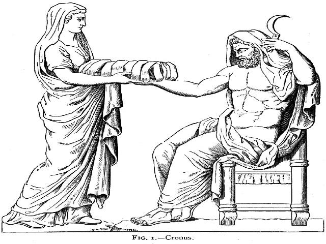 kronos ve rhea