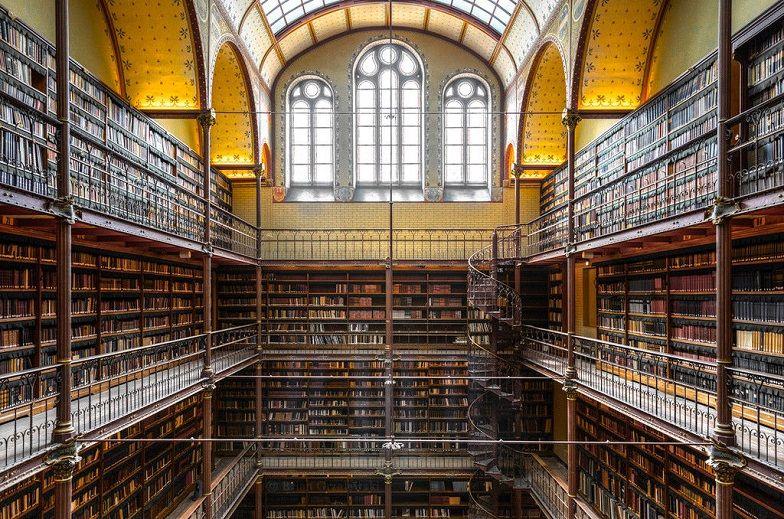 müze kütüphanesi